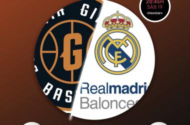 Delteco GBC vs. Real Madrid, el sábado 19 de septiembre a las 20:45 horas