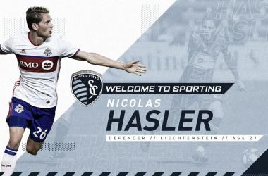Nicolás Hasler jugará en Sporting Kansas City