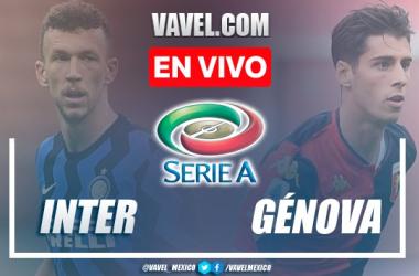 Goles y resumen del Inter 4-0 Genoa en Serie A