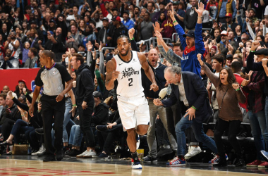 Kawhi Leonard hit the game-winning shot as L.A. was too much for a hard-fighting Houston team.&nbsp;<div>Photo by Andrew D. Bernstein/NBAE via Getty Images</div>