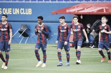 Previa FC Barcelona B - FC Andorra: el Barça busca la primera victoria fuera de casa