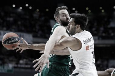 El base argentino fue figura destacada en el encuentro del Real Madrid | Foto: Cuenta oficial del Real Madrid Basket