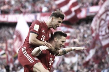 Niklas Sule garantiu os três pontos para o Bayern (Foto: Divulgação / FCB)