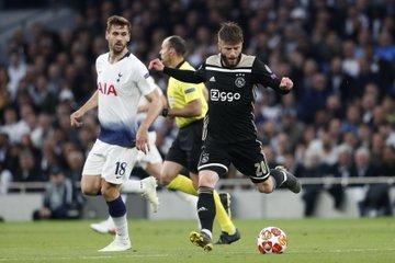 Champions League: il Tottenham cerca il miracolo in casa dello scintillante Ajax