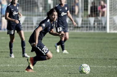 Sky Blue FC forward Sam Kerr continues to electrify the fans   Source: Sky Blue FC
