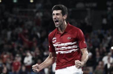 Liderada por Djokovic, Sérvia vence Espanha de virada e conquista ATP Cup