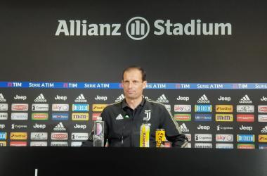 Juventus, Allegri presenta la partita contro l'Inter