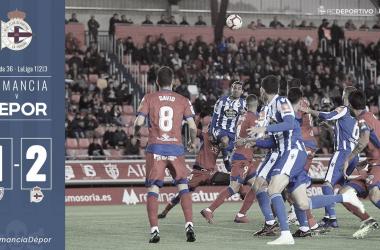 Michele Somma anotó su primer gol como deportivista // RCDeportivo