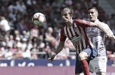Com gol contra, Atlético de Madrid vence Valladolid pela La Liga