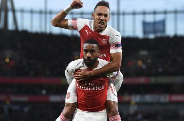 Europa League - L'Arsenal si impone sul Valencia grazie Lacazette e Aubameyang (3-1)