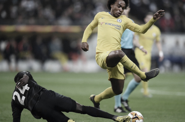 Eintratch Frankfurt e Chelsea só empatam e vaga na final da UEL será decidida em Londres