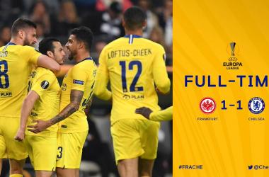 Europa League - Pedro risponde a Jovic: finisce 1-1 tra Francoforte e Chelsea