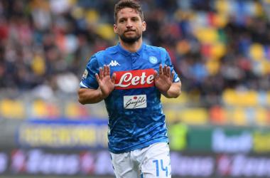 Serie A - Mertens e Younes stendono il Frosinone: vince il Napoli 0-2