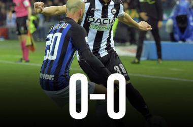 Serie A - L'Inter non scalfisce il bunker friulano (0-0)