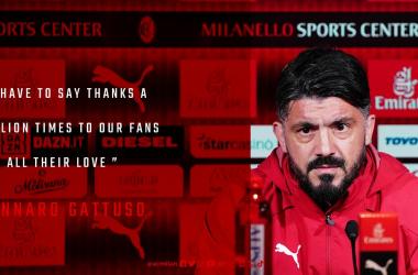 Milan, la conferenza di Gattuso ed i convocati rossoneri
