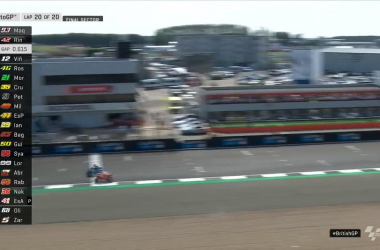 MotoGp Gp Gran Bretagna-Rins beffa Marquez sul traguardo e seconda gara da cardioplama