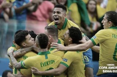 Copa América: Apareció Brasil