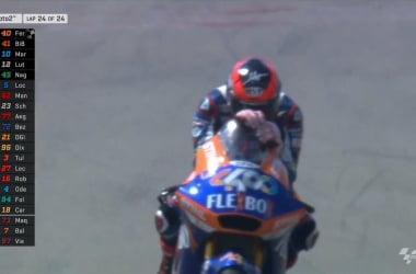 Moto2 Gp Assen- Marquez e Baldassarri si fanno male a vicenda, vince Fernandez