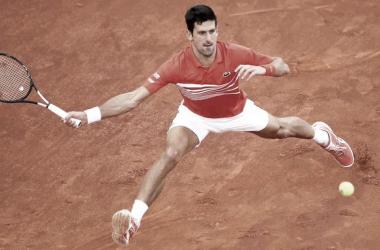 Novak en tierras italianas. Imagen-ATP
