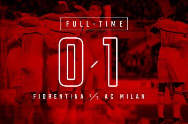Serie A - Il Milan vince contro la Fiorentina e tiene viva la lotta Champions