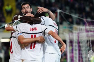 Il Milan torna a vincere a Firenze dopo 5 anni: rossoneri ancora in corsa per la Champions