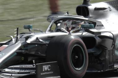 El Mercedes de Hamilton | Foto: Fórmula 1