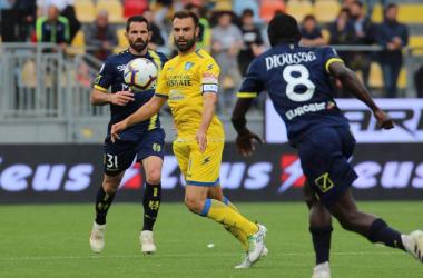 """Serie A - Frosinone e Chievo si dividono la posta in palio: 0-0 allo stadio """"Stirpe"""""""