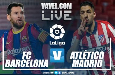 Barcelona vs Atlético de Madrid en VIVO en LaLiga 2021