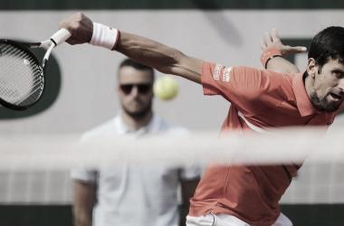Novak arrasa en París. Imagen-ATP