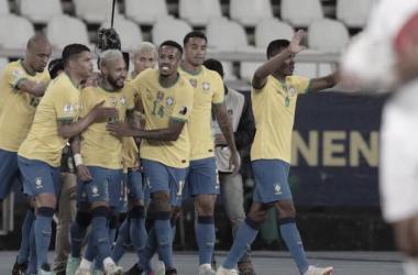 El camino de Brasil a la final de la Copa América 2021