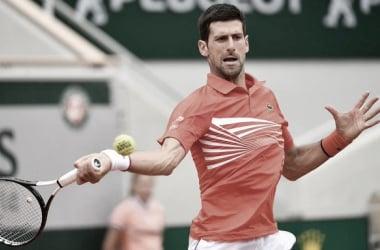 Novak aprovecha los errores de Zverev. Imagen-ATP