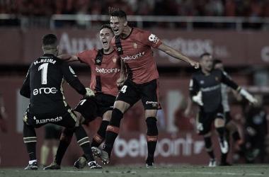 El Mallorca celebra su ascenso a la Liga Santander // #Vamos