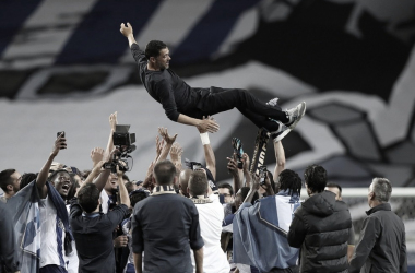 Sérgio Conceição cita união e trabalho duro do Porto após garantir título português