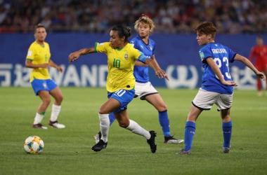 Women's World Cup: Italy 0-1 Brazil