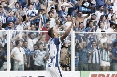 Alex Silva deixou tudo igual (foto: Frederico Tadeu/Avaí FC)