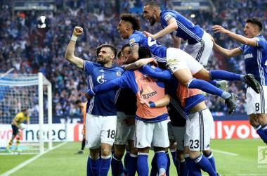 Bundesliga - Konoplyanka e una magia di Naldo regalano il derby allo Schalke: BVB battuto 2-0