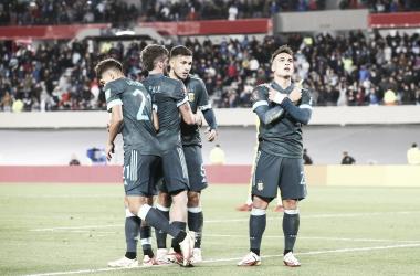 Eliminatorias rumbo al Mundial de Qatar 2022- Fecha 12- Argentina 1- Perú 0