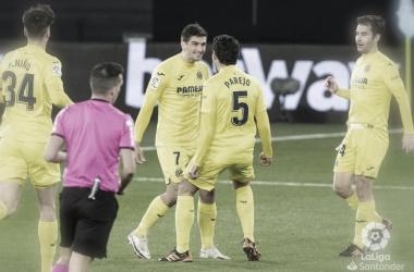 Gerard y Parejo celebran un gol esta temporada // Foto: LaLiga