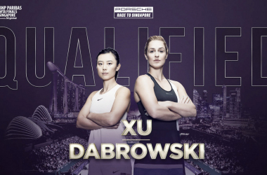 Dabrowski and Xu are making their second appearance in Singapore | Photo: WTA
