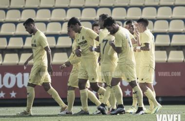 Goleada de un potente Villarreal B en el derbi