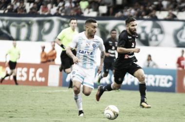 Comandante reconhece ainda mais eficiência do Leão ao sair com vantagem para volta (Foto: Fernando Torres/Paysandu)
