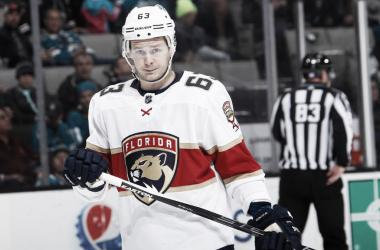 Dadonov ha sido pieza clave en la ofensiva de Florida desde el año pasado. NHL.com.
