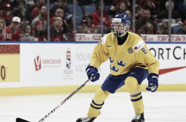 Arizona Coyotes could have a shot at drafting Rasmus Dahlin in the NHL Entry Draft. (Photo: knightsonice.com)