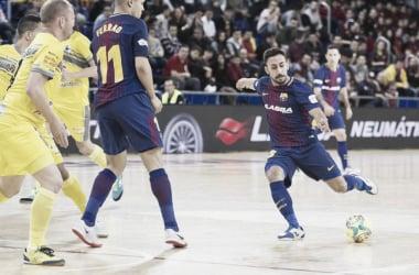 El Barça supera a Peñíscola a cañonazo puro