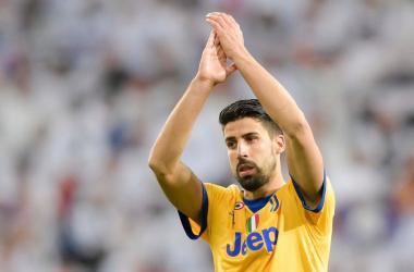 Juventus: i convocati e la probabile formazione per la gara con il Sampdoria - Twitter Khedira