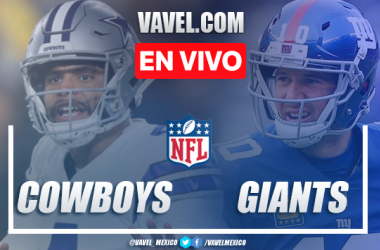 Resumen y touchdowns Dallas Cowboys 37-18 New York Giants en NFL 2019