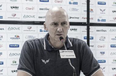 Gilmar dal Pozzo após Paraná Clube 1 a 1 Botafogo-SP (Rui Santos / Paraná Clube)