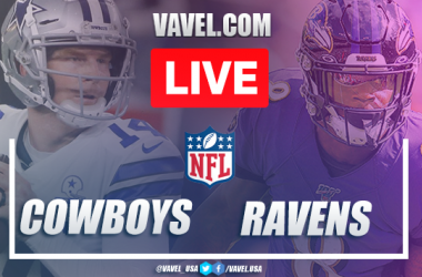 Highlights and Touchdowns: Dallas Cowboys 17-34 Baltimore Ravens, 2020 NFL