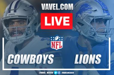 Score and Touchdowns: Dallas Cowboys 35-27 Detroit Lions in NFL 2019