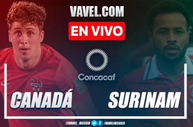 Resumen y goles: Canadá 4-0 Surinam en Eliminatorias de CONCACAF 2021